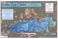 Eau Claire Lake - Wisconsin Department of Natural Resources