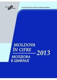 Молдова в цифрах, выпуск 2013 г. - Biroul Naţional de Statistică