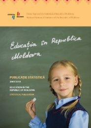 Educaţia în Republica Moldova - Biroul Naţional de Statistică