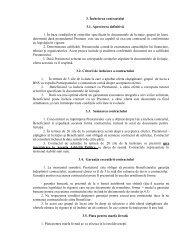 3. Încheierea contractului 3.1. Aprecierea definitivă 1. În baza ...