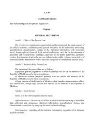 Law on Official Statistics - United Nations Statistics Division