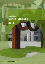 DIE kleine BERLIN-STATISTIK 2012 - Amt für Statistik Berlin ...