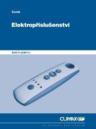 Ceník elektropříslušenství - Climax
