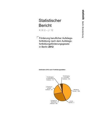 2012 - Amt für Statistik Berlin-Brandenburg