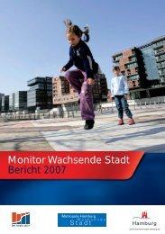 Monitor Wachsende Stadt Bericht 2007 - Handelskammer Hamburg
