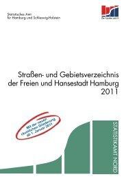 Straßen- und Gebietsverzeichnis der Freien und ... - Statistikamt Nord