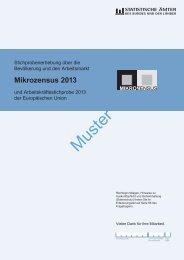 Fragebogen zum Mikrozensus 2013 - Unabhängiges ...