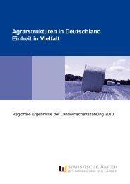 Agrarstrukturen in Deutschland – Einheit in Vielfalt - Statistische Ämter