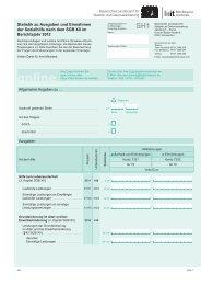 Fragebogen Ausgaben und Einnahmen 2012 - Bayerisches ...