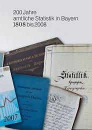 Teil 1 - Bayerisches Landesamt für Statistik und Datenverarbeitung ...