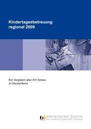 Kindertagesbetreuung_regional_2009.pdf (1.6 MB) - Statistisches ...