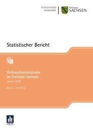 m 01/13 [Download,*.pdf, 0,77 MB] - Statistik - Freistaat Sachsen
