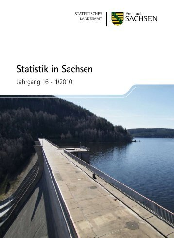 Zeitschrift 1/2010 [Download,*.pdf, 3,94 MB] - Statistik - Freistaat ...