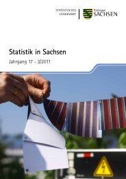 Statistik in Sachsen 3/2011 [*.pdf, 1,78 MB] - Statistik - Freistaat ...
