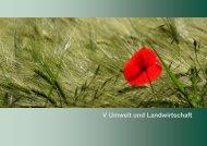 Kapitel V - Umwelt und Landwirtschaft [Download,*.pdf, 0 ... - Statistik