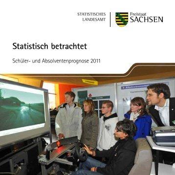 Schüler- und Absolventenprognose 2011 - Statistik - Freistaat ...