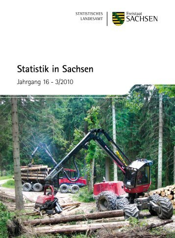 Zeitschrift 3/2010 [Download,*.pdf, 1,93 MB] - Statistik - Freistaat ...