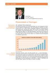 Photovoltaik in Thüringen - Thüringer Landesamt für Statistik ...