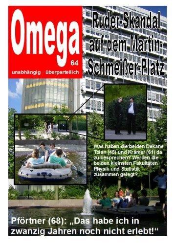 Omega 64 - Fakultät Statistik - TU Dortmund