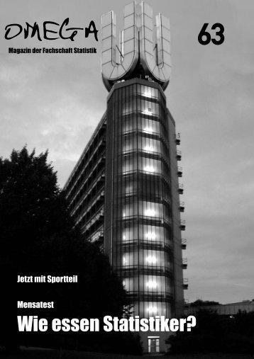 Omega 63 - Fakultät Statistik - TU Dortmund
