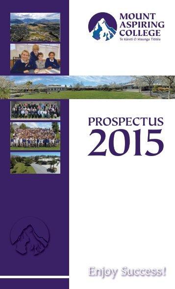 MAC Prospectus 2015