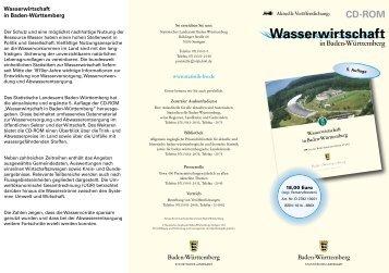 Faltblatt mit Informationen zur CD herunterladen - Statistisches ...