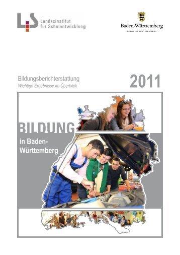 Bildungsberichterstattung 2011 -Wichtige Ergebnisse im Überblick