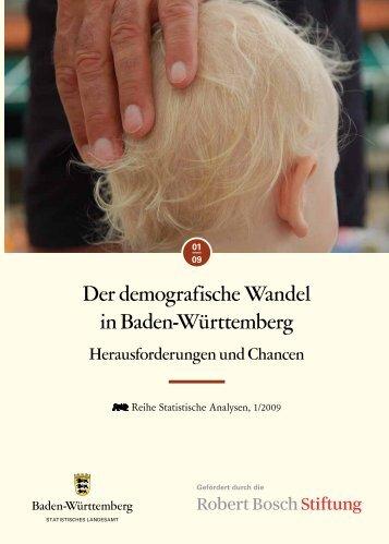 Der Demografische Wandel in Baden-Württemberg - Statistisches ...