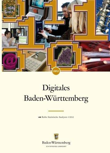 Digitales Baden-Württemberg - Statistisches Landesamt Baden ...
