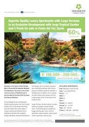 € 196 000 - 259 000,- - Dreamlife Property Spain