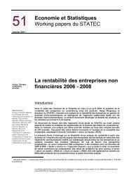 Economie & Statistiques N° 51/2011