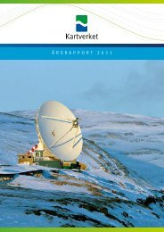Årsrapport 2011 (pdf) - Kartverket