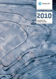 Statkraft SF annual report 2010