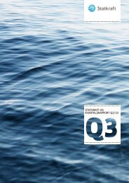Statkraft aS kvartalSrapport Q3/10