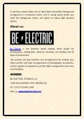 Be Electric - photography studios - Page 2