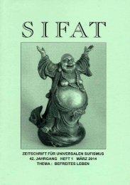 SIFAT - Zeitschrift für Universalen Sufismus - 2014 Heft 1 - März (Leseprobe)