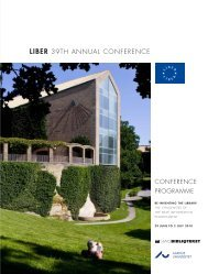 Conference on Research Publication - Statsbiblioteket