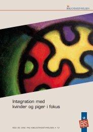 Integration med kvinder og piger i fokus - Statsbiblioteket