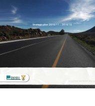Strategic plan 2010/11 – 2014/15 - Statistics South Africa