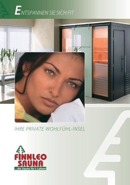 Finnleo Sauna-Katalog