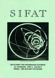 SIFAT - Zeitschrift für Universalen Sufismus - 2014 Heft 2 - Juli (Leseprobe)