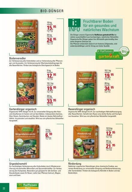 ZG Raiffeisen Markt | Katalog 2011