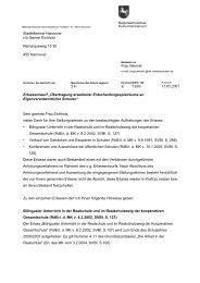 Briefe des MK zu Stellungnahmen des Stadtelternrates zu Erlassen