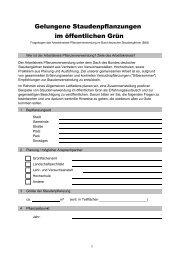 Fragebogen (2) - Bund deutscher Staudengärtner