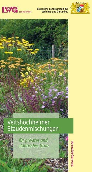 Veitshöchheimer Staudenmischungen - Bayerische Landesanstalt ...
