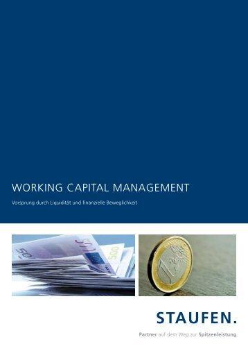 Working Capital ManageMent - Staufen