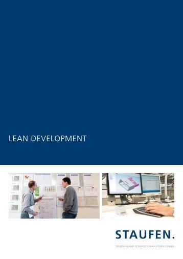 Brochure Lean Development - Staufen