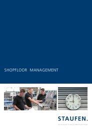 Brochure Shopfloor Management - Staufen