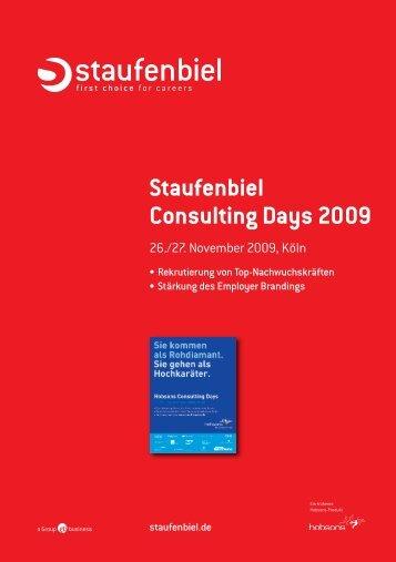 Staufenbiel Consulting Days 2009
