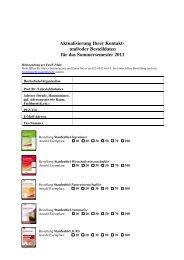 Bestellformular online - Staufenbiel